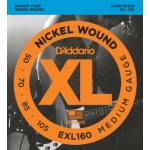 2 Sets of D'Addario EXL160 Long Scale Bass Strings 50-105