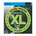 2 Sets of D'Addario EXL165-6 Long Scale Bass Strings 32-135