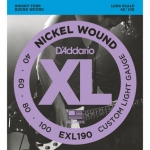 2 Sets of D'Addario EXL190 Long Scale Bass Strings 40-100