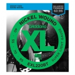 2 Sets of D'Addario EXL220BT Long Scale Bass Strings 40-95