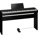 Roland F20 Digital Piano in Contemporary Black