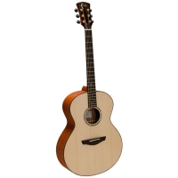 Faith FN Natural Neptune Small Jumbo Acoustic Guitar in Natural