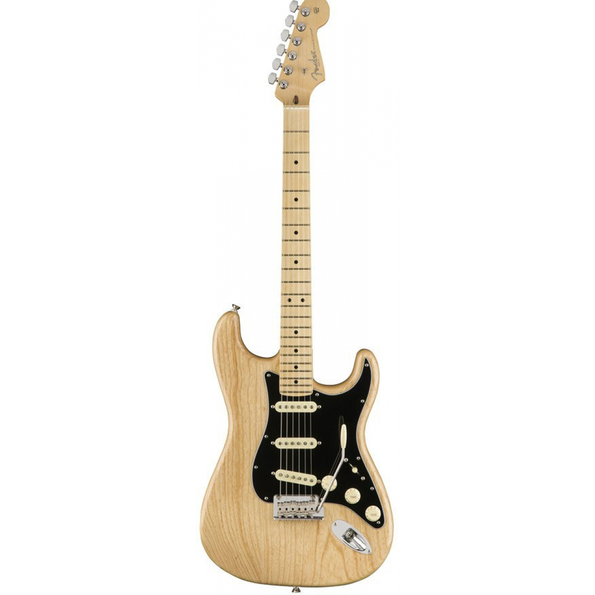 fender american made professional stratocaster in natural at promenade music. Black Bedroom Furniture Sets. Home Design Ideas