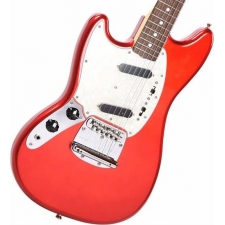 Fender 2019 Ltd Ed MIJ Traditional '60s Mustang, Candy Apple Red, Left-Handed
