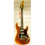 Fender FSR Player Stratocaster HSS TBX Boost in Amber Burst