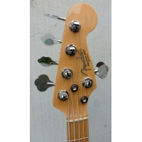 Fender American Standard 5 String Precision Bass, Blue, Secondhand