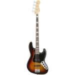 Fender American Elite Jazz Bass, 3 Colour Sunburst