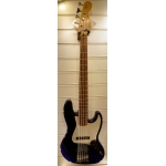 Fender 5-String Jazz Bass, Blue, Secondhand
