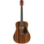 Fender CD60 Acoustic Guitar, Mahogany