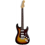Fender Deluxe Lonestar Stratocaster Electric Guitar in Brown Sunburst