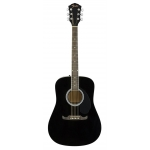 Fender FA125 Acoustic Guitar in Black