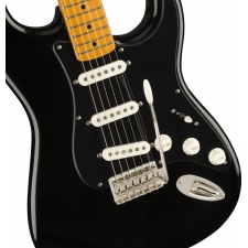 Squier FSR Classic Vibe 50s Stratocaster, Black with Black Pickguard