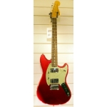 Fender Mustang Pawn Shop Special in Candy Apple Red