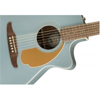 Fender Newporter Player, Electro Acoustic Guitar, Ice Blue Satin
