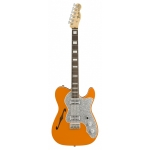 Fender 2018 Limited Edition Tele Thinline Super Deluxe, Parallel Universe, Orange