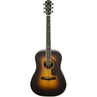 Fender PM1 Deluxe Dreadnought, Vintage Sunburst