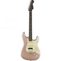 Fender American Professional Strat Ltd Ed HSS Shawbucker, Rose Gold