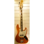 Fender Select Jazz Bass, Rosewood Fingerboard, Amber Burst