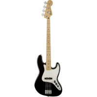 Fender Standard Jazz Bass, Black, Maple Fingerboard