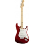 Fender Mexican Made Standard Stratocaster in Candy Apple Red