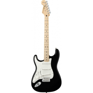 Fender Mexican Made Standard Stratocaster in Black, Lefthanded