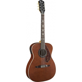 Fender Tim Armstrong Hellcat Electro Acoustic Guitar, Mahogany