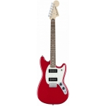 Fender Mexican Mustang 90 Electric Guitar with P90's in Torino Red