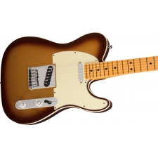Fender American Ultra Telecaster Electric Guitar in Mocha Burst Inc Case