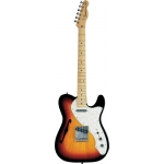 Fender American 69 Thinline Telecaster in Brown Sunburst, Secondhand