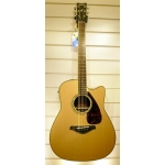 Yamaha FGX730SC Electro Acoustic Guitar, Natural