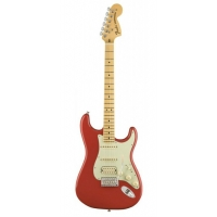 Fender American Special Stratocaster in Fiesta Red with HSS Texas Specials