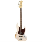 Fender Flea Jazz Bass, Shell Pink, Secondhand