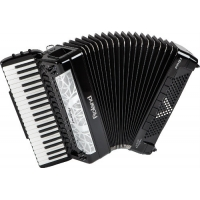 Roland FR8X V-Accordion in Black, Ex-Demo Model