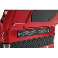 Roland FR8XB Button V-Accordion in Red