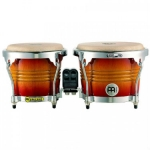 Meinl Free Ride Series Wood Bongos, Aztec Red Fade