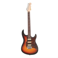 Fret King FBSMBK Supermatic Electric Guitar In Original Classic Burst