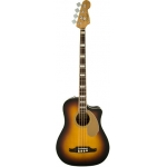 Fender Kingman Bass SCE with Case, 3 Colour Sunburst