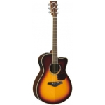 Yamaha FSX720SC II Electro Acoustic Guitar, Brown Sunburst