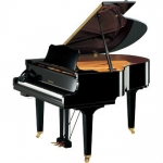 Yamaha GC1 Silent Grand Piano, Polished Ebony
