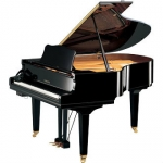 Yamaha GC2  SIlent Grand Piano in Black Polyester