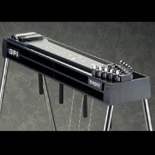 GFI S10E Expo Single Neck Pedal Steel Guitar In Black Mica Inc Hard Case