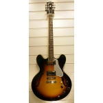 Gibson ES335 Dot Plain Gloss, Sunburst