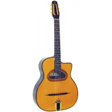 Gitane D500 Maccaferri Style Gypsy Jazz Guitar with D-hole (GR52066)