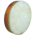 "Glenluce 16"" Standard Bodhran in Natural Stain with Beater (GR16000)"