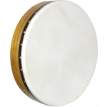 "Glenluce 18"" Standard Bodhran in Natural Stain with Beater (GR16003)"