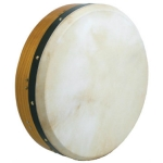 "Glenluce 16"" Tuneable Bodhran in Natural Stain with Beater (GR16016)"