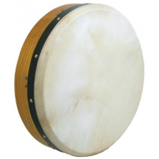 "Glenluce 16"" Kilkee Tuneable Bodhran in Natural Stain with Beater (16016)"
