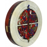 """Waltons 18"""" Standard Bodhran Skelling Pack with Cover, Beater & DVD 16057A"""