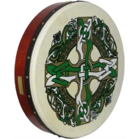 "Waltons 18"" Standard Bodhran Celtic Pack With Cover, Beater & DVD 16057C"