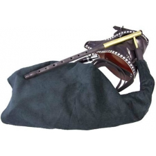 Bagpipes Galore Irish Uilleann ABS Practice Pipes with Gig Bag (GR26054)